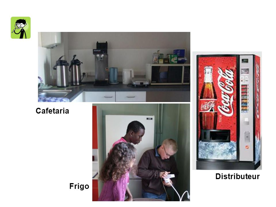 Cafetaria Distributeur Frigo