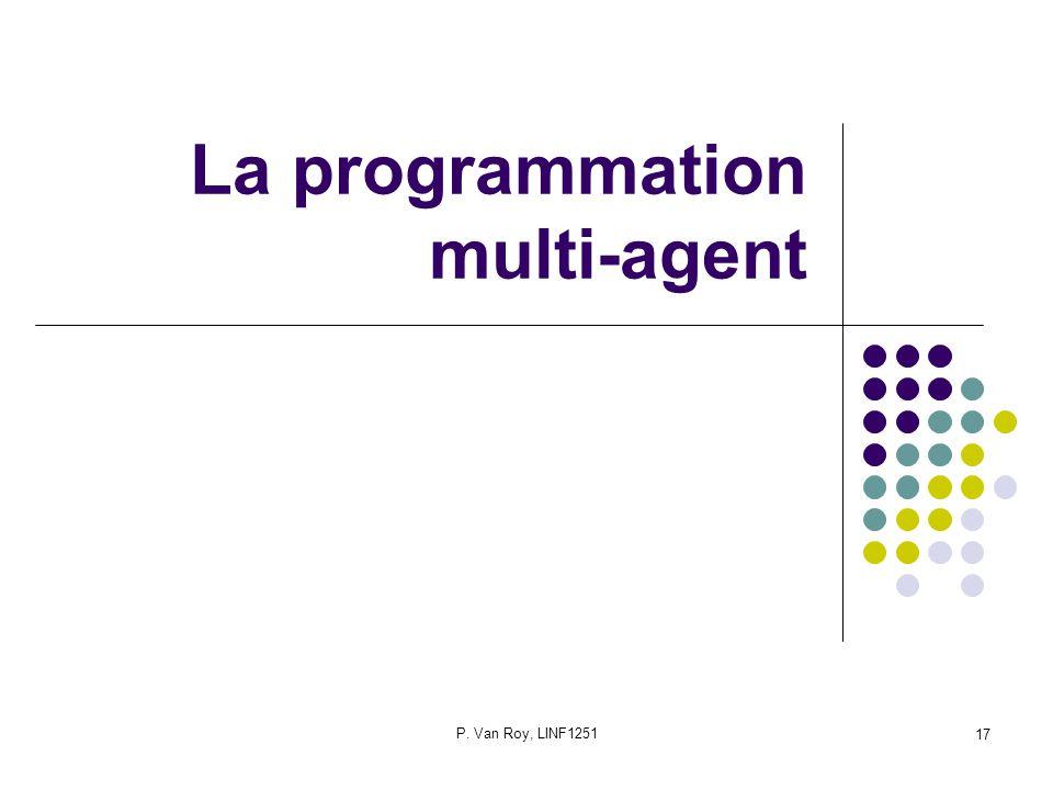 La programmation multi-agent