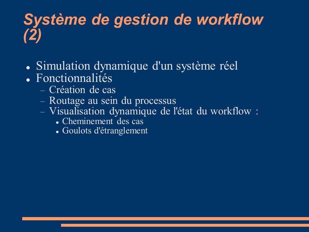 Système de gestion de workflow (2)