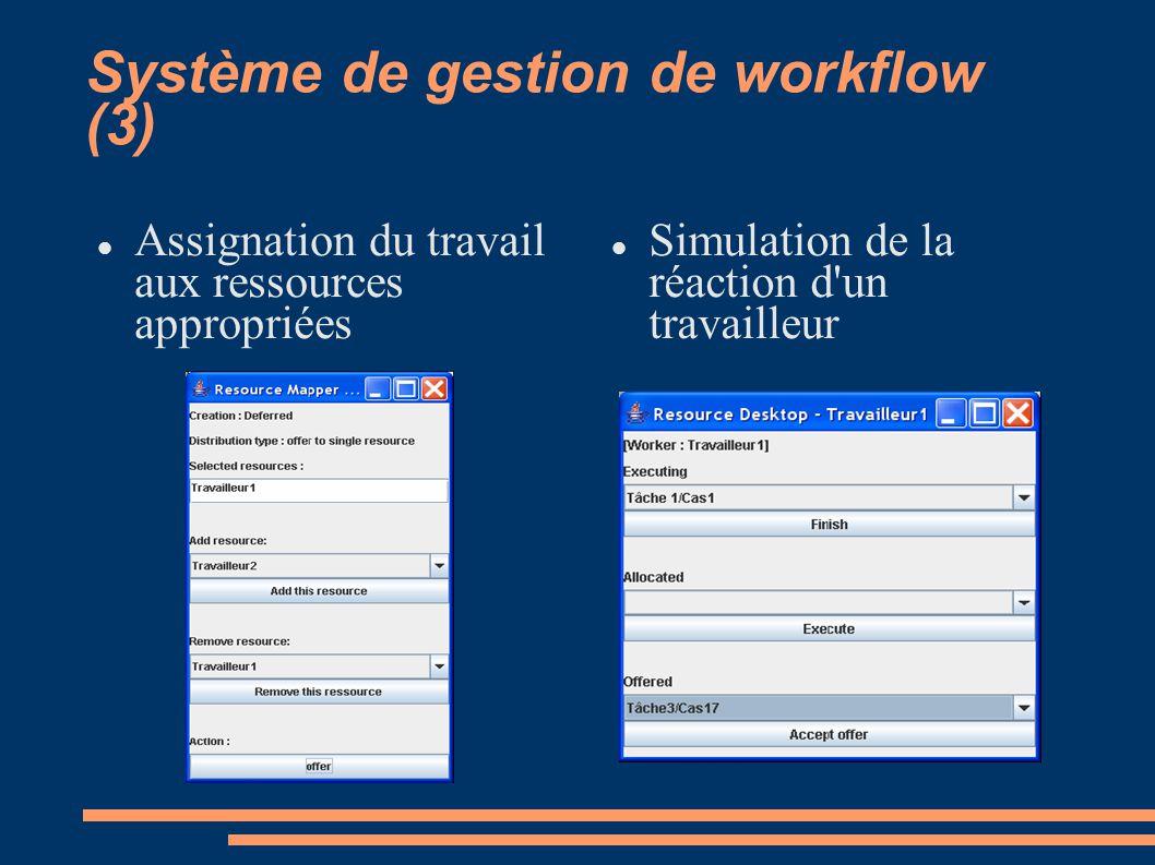 Système de gestion de workflow (3)