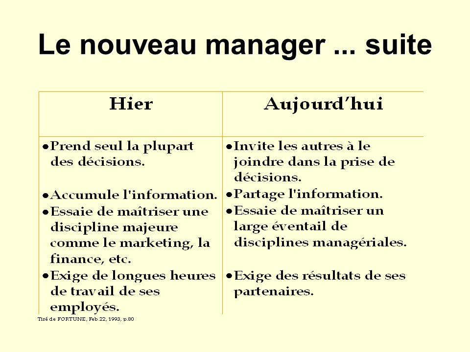 Le nouveau manager ... suite