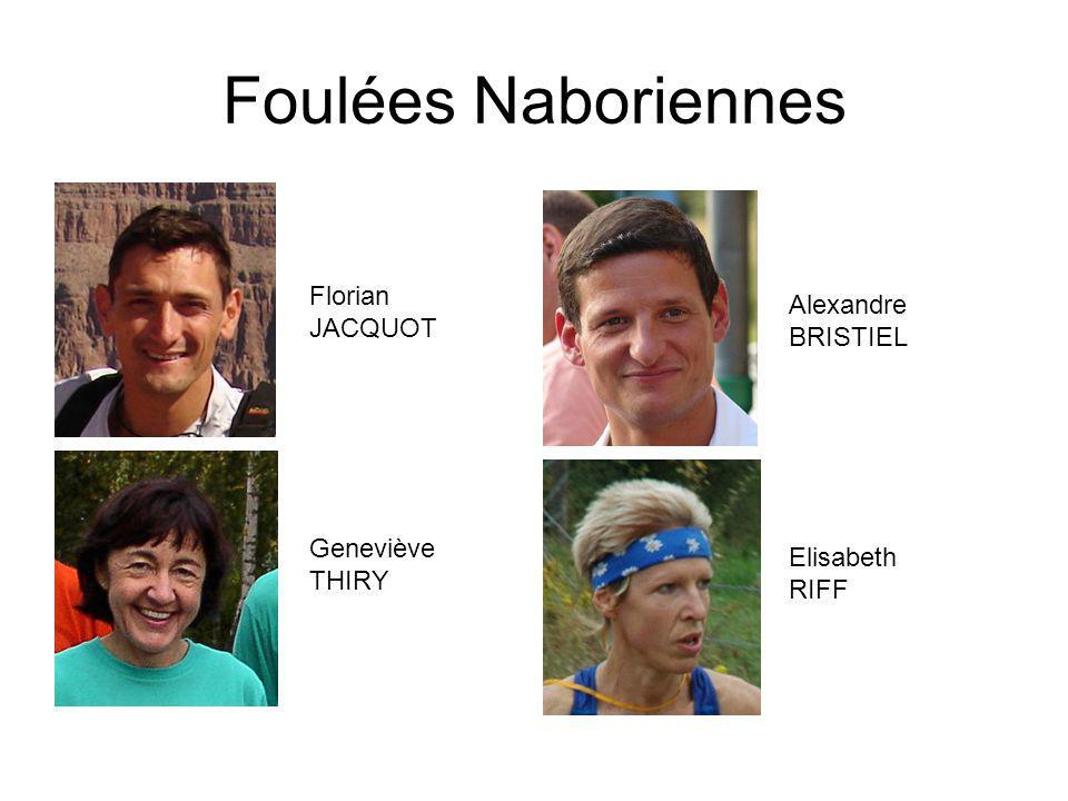 Foulées Naboriennes Florian Alexandre JACQUOT BRISTIEL Geneviève