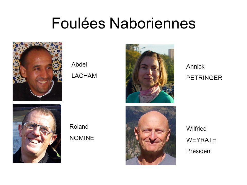 Foulées Naboriennes Abdel Annick LACHAM PETRINGER Roland Wilfried