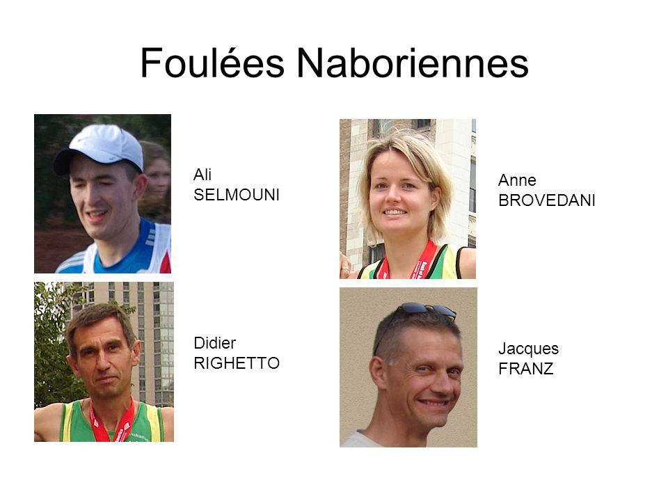 Foulées Naboriennes Ali Anne SELMOUNI BROVEDANI Didier Jacques