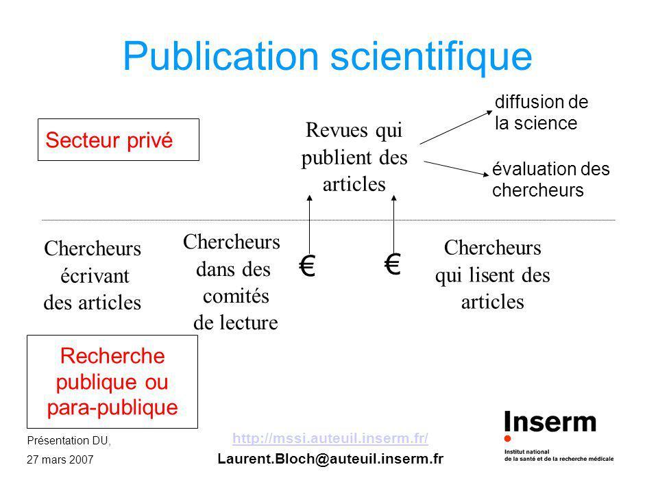 Publication scientifique