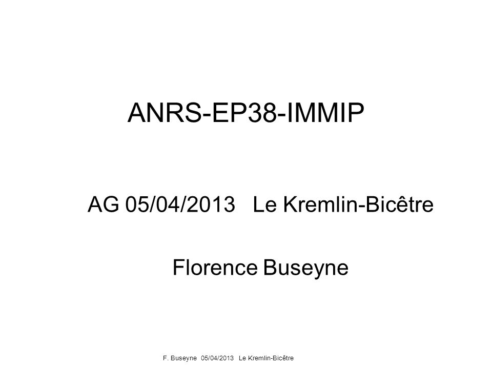 AG 05/04/2013 Le Kremlin-Bicêtre Florence Buseyne