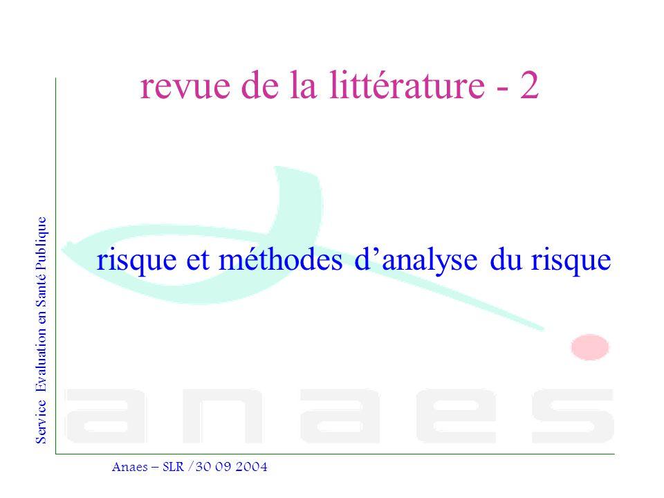 revue de la littérature - 2