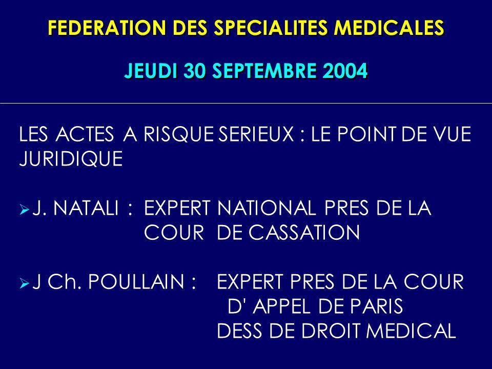 FEDERATION DES SPECIALITES MEDICALES