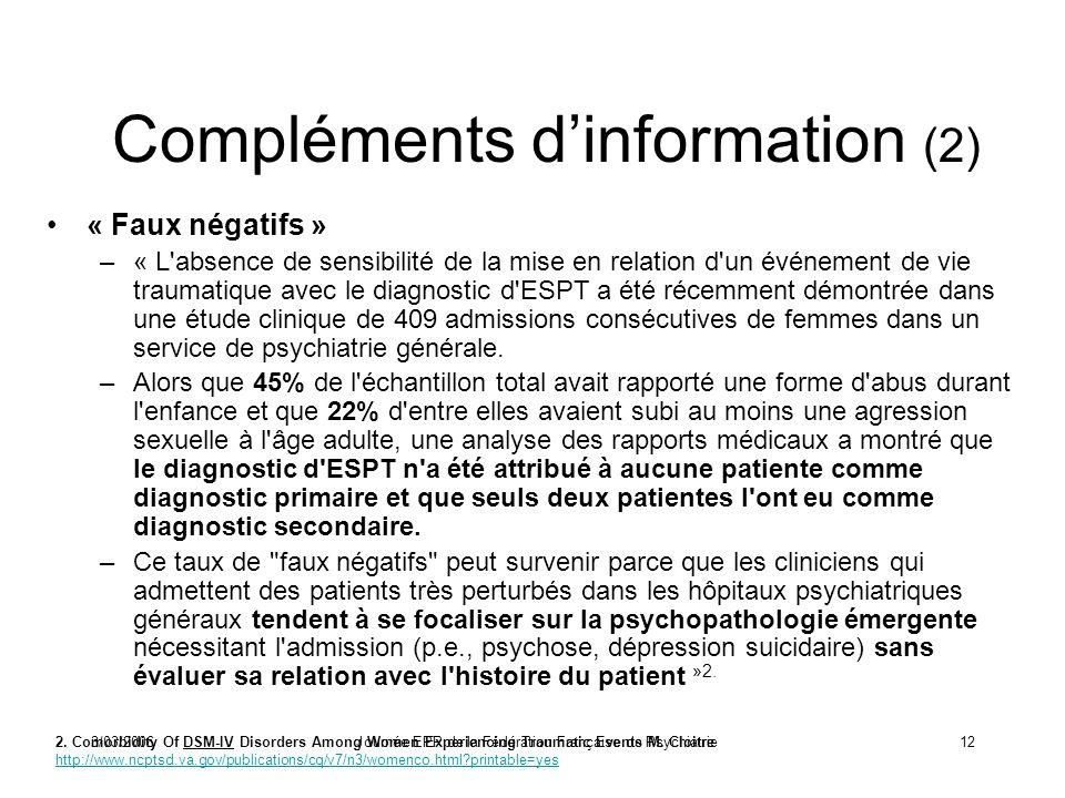 Compléments d'information (2)