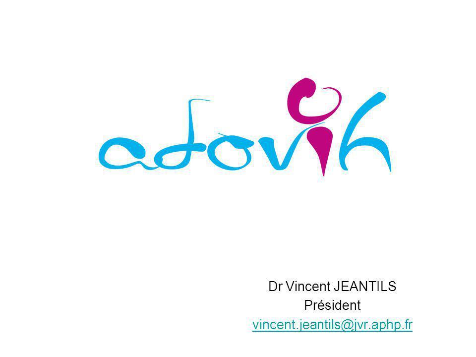 Dr Vincent JEANTILS Président vincent.jeantils@jvr.aphp.fr