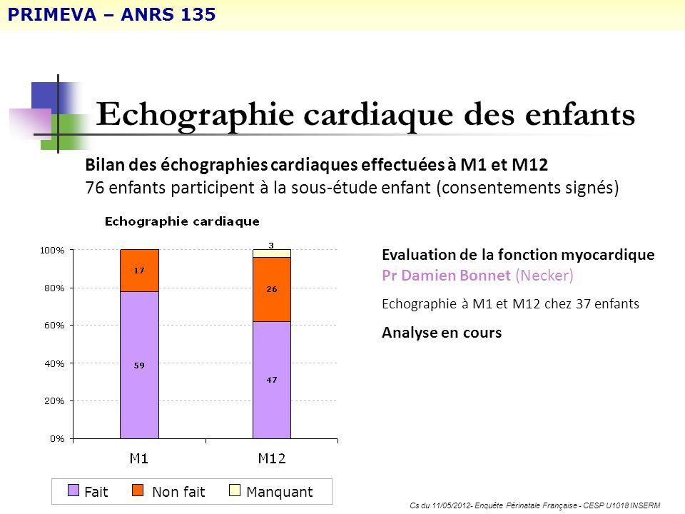 Cs du 11/05/2012- Enquête Périnatale Française - CESP U1018 INSERM