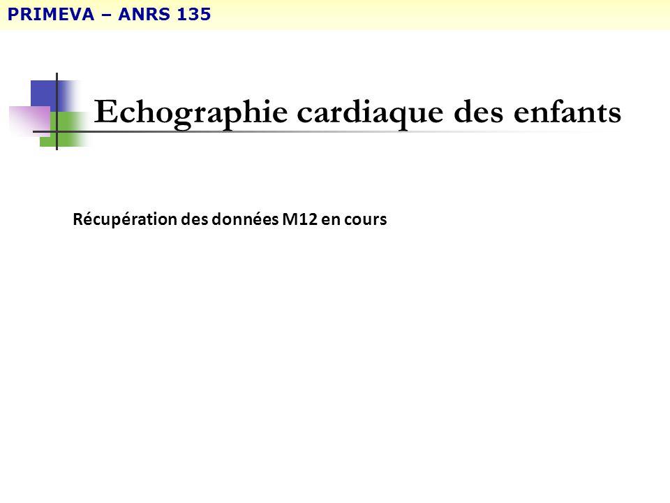 Echographie cardiaque des enfants