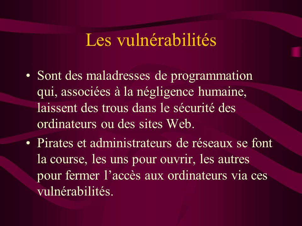 Les vulnérabilités
