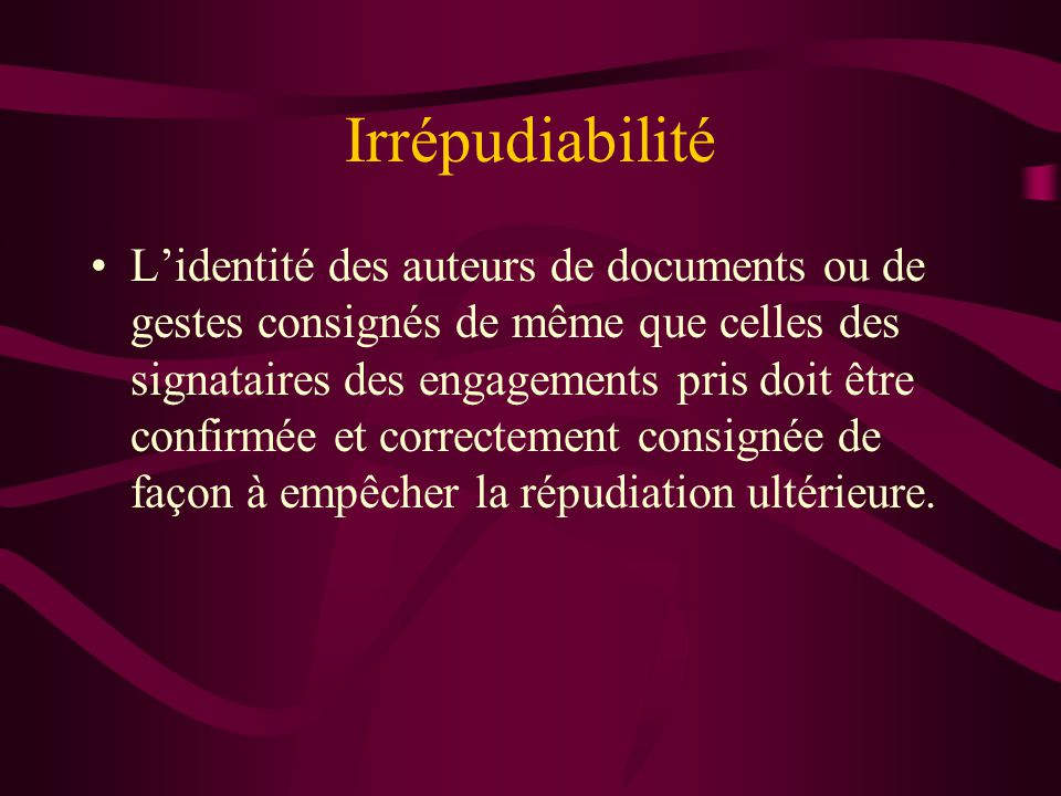 Irrépudiabilité