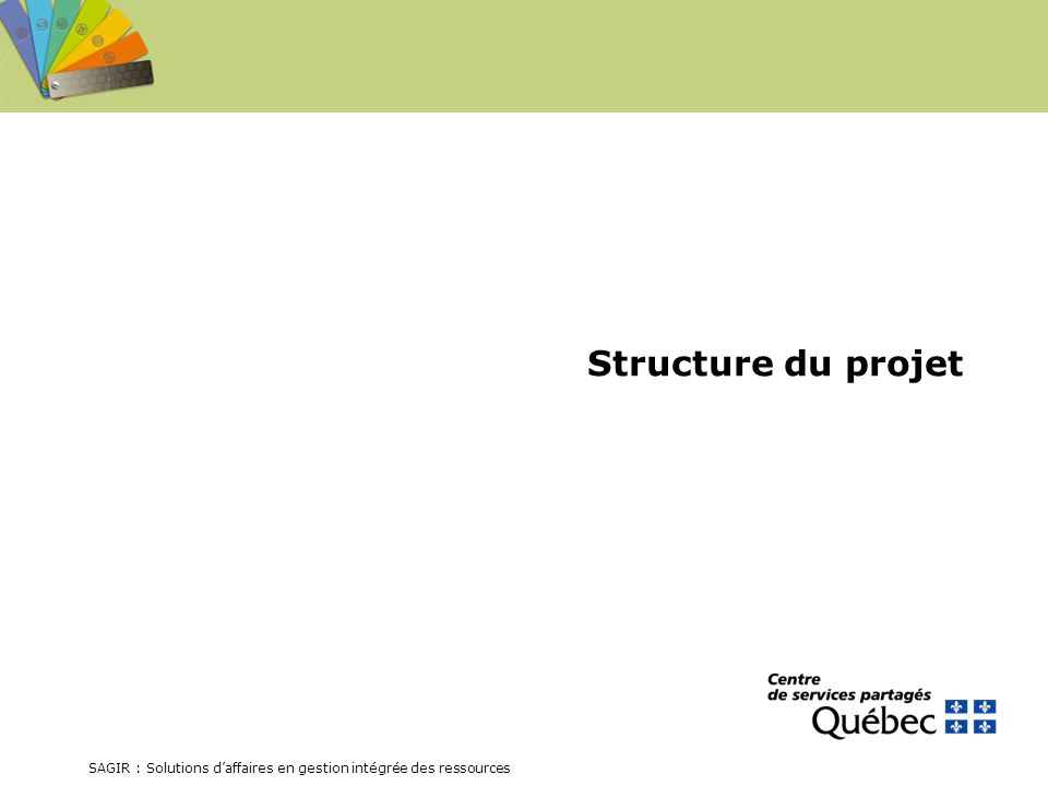 Structure du projet