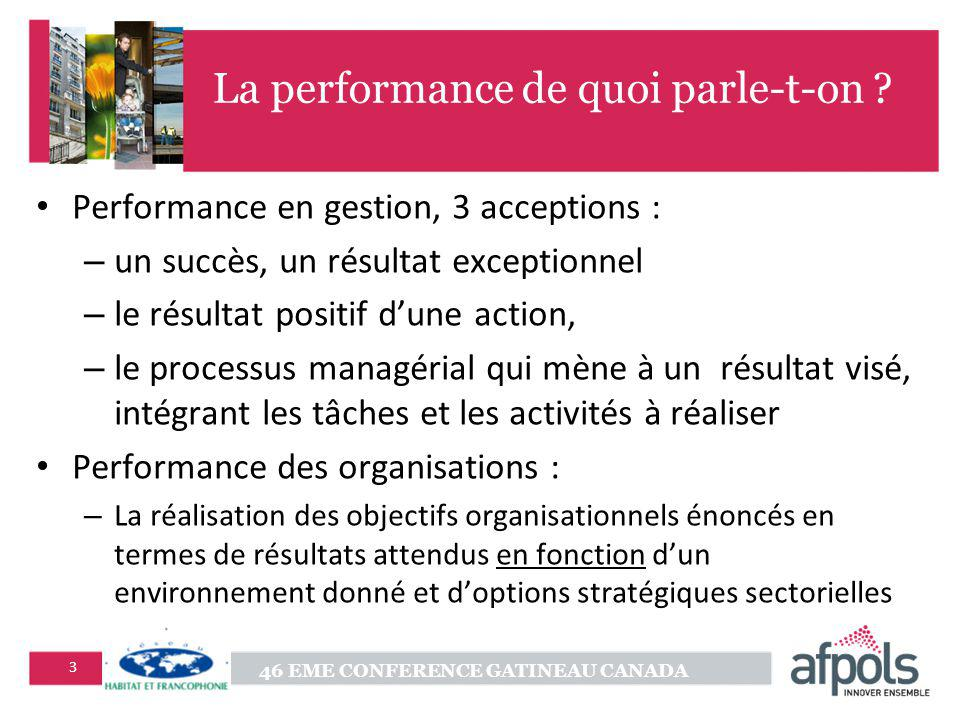 La performance de quoi parle-t-on