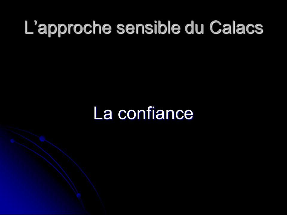 L'approche sensible du Calacs