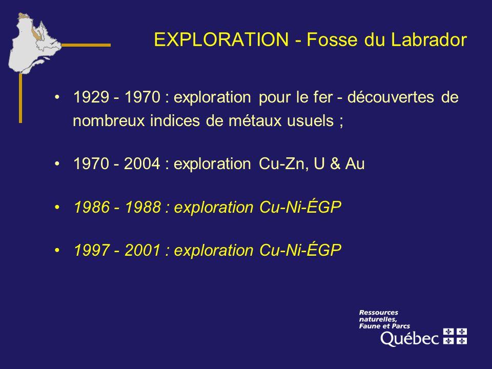 EXPLORATION - Fosse du Labrador