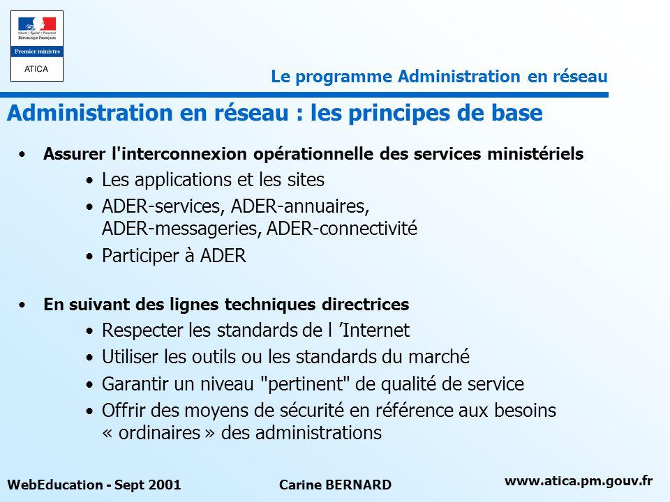 Administration en réseau : les principes de base