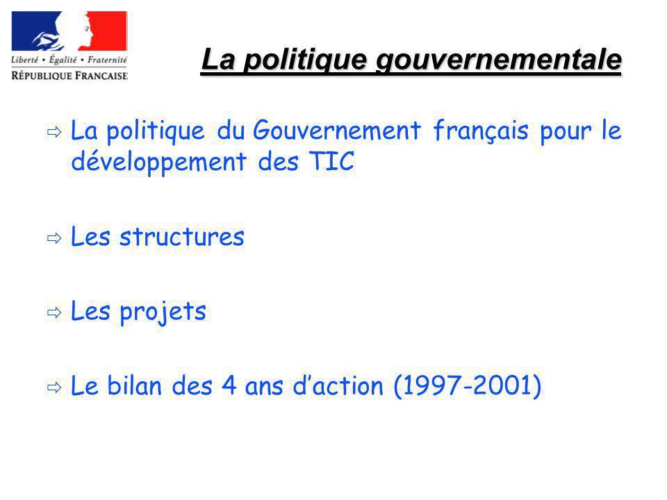 La politique gouvernementale