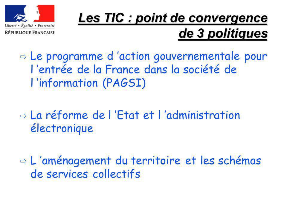 Les TIC : point de convergence de 3 politiques