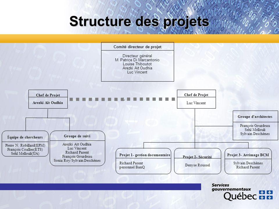 Comité directeur de projet