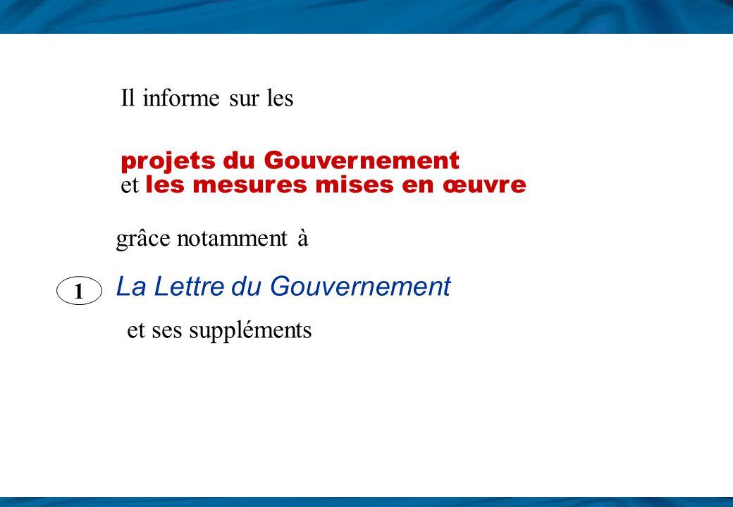 La Lettre du Gouvernement