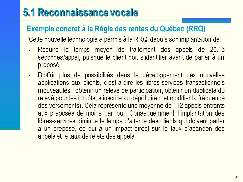 Exemple concret à la Régie des rentes du Québec (RRQ)