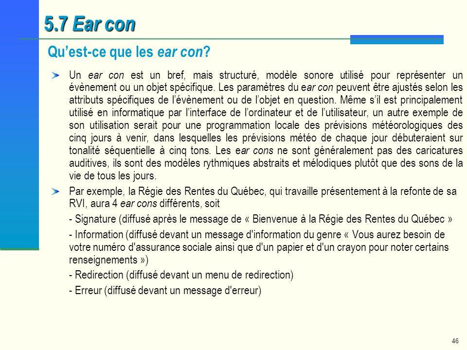 5.7 Ear con Qu'est-ce que les ear con