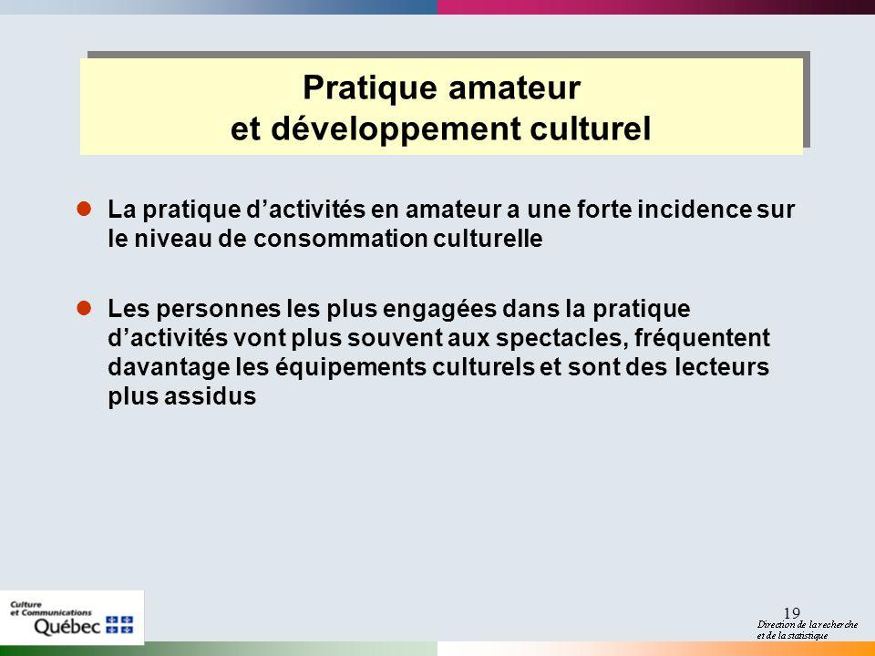 et développement culturel