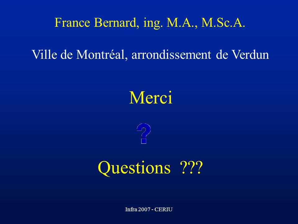 France Bernard, ing. M. A. , M. Sc. A