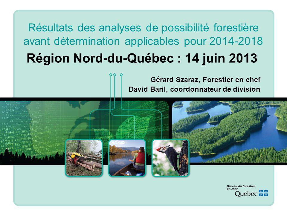 Région Nord-du-Québec : 14 juin 2013