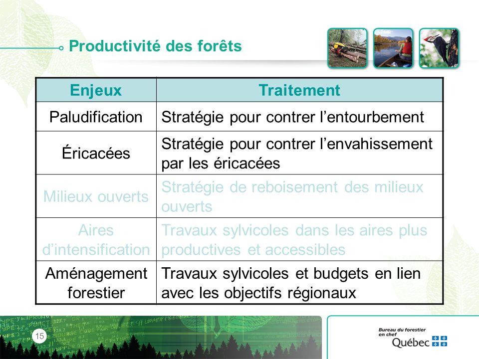 Productivité des forêts