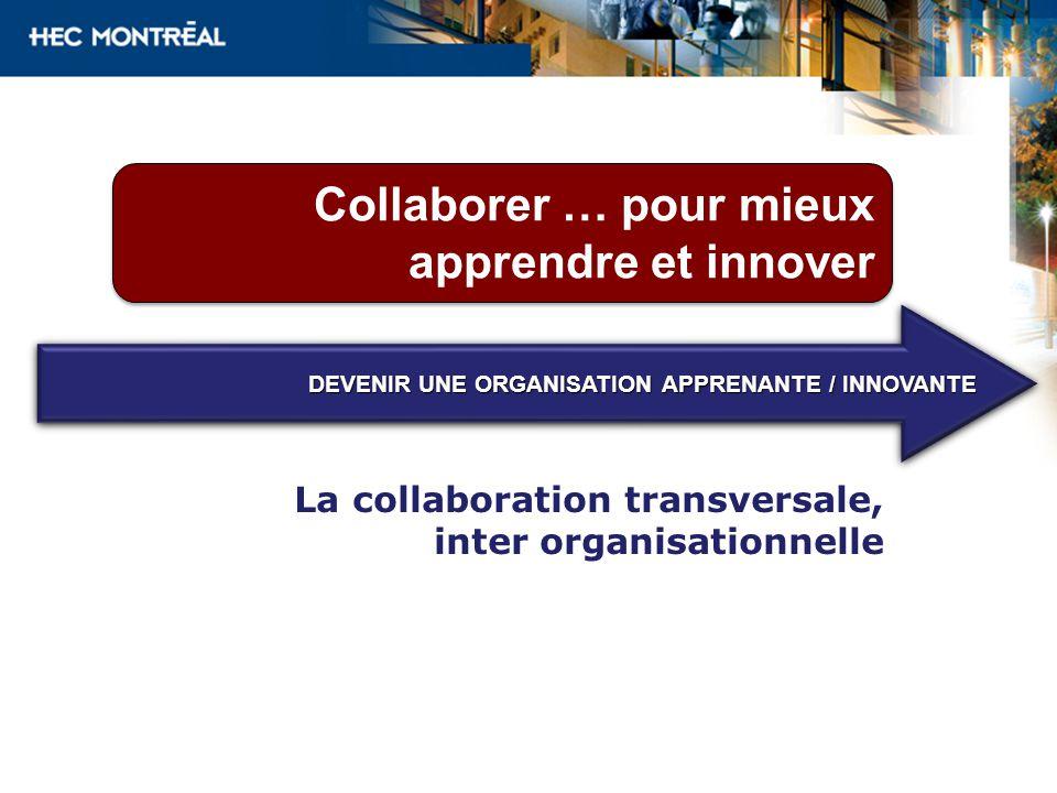 Collaborer … pour mieux apprendre et innover