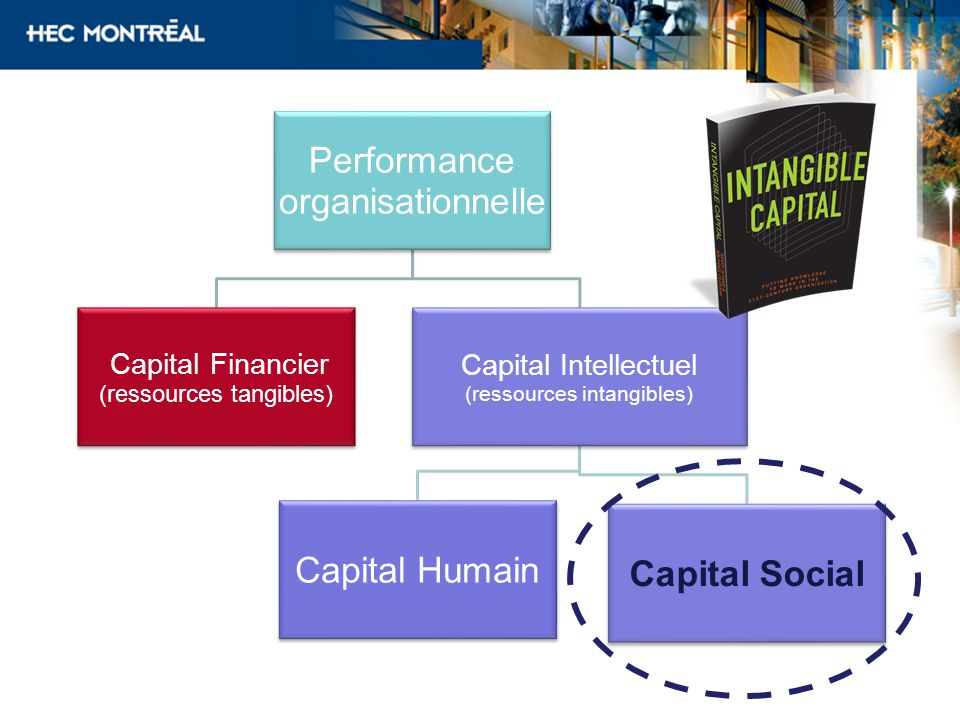 Capital Financier Capital Intellectuel (ressources tangibles)