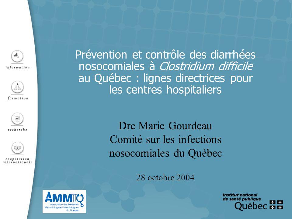 Comité sur les infections nosocomiales du Québec