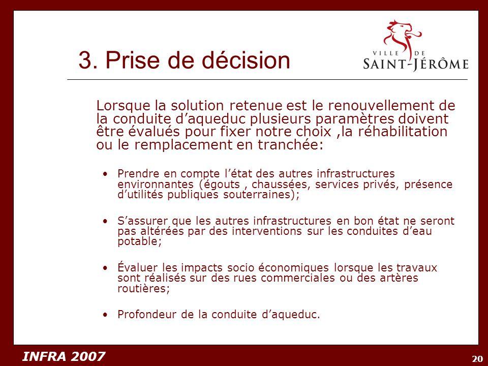 3. Prise de décision