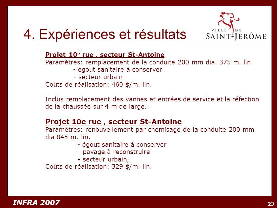 4. Expériences et résultats
