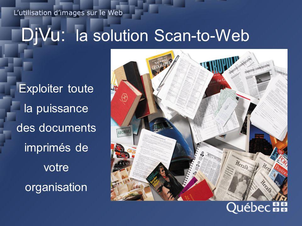 DjVu: la solution Scan-to-Web