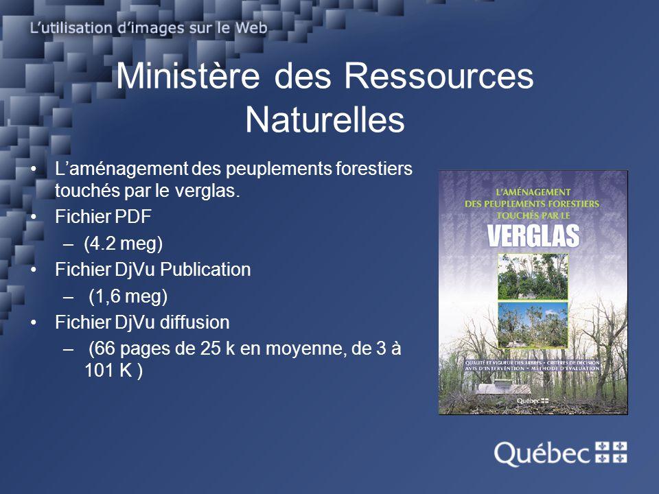 Ministère des Ressources Naturelles