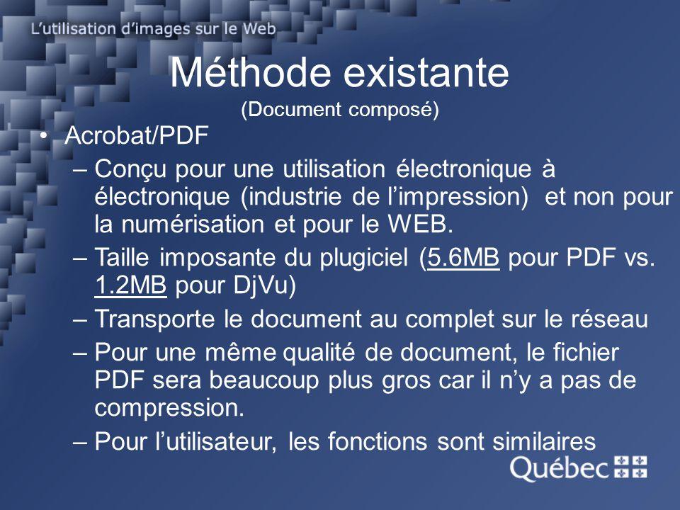 Méthode existante (Document composé)