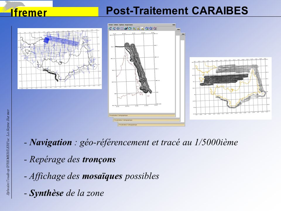 Post-Traitement CARAIBES