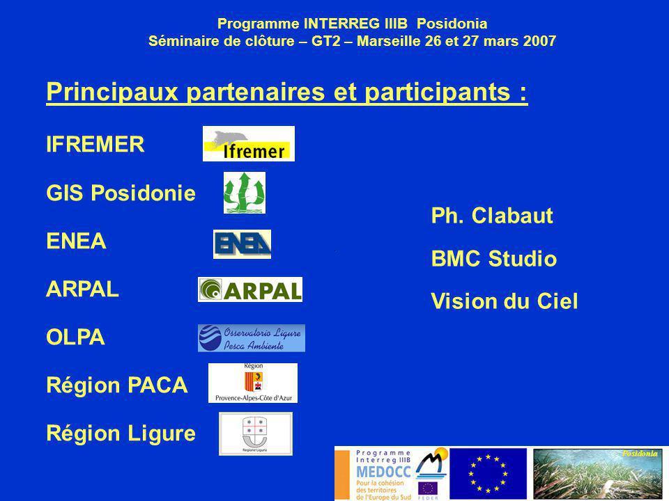 Principaux partenaires et participants :