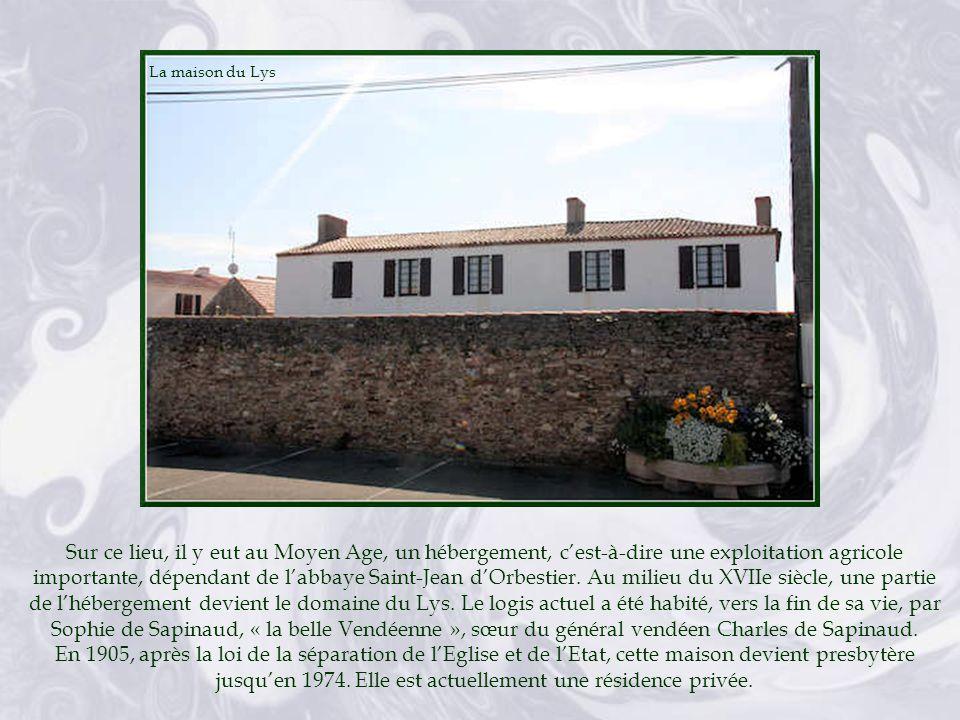 La maison du Lys