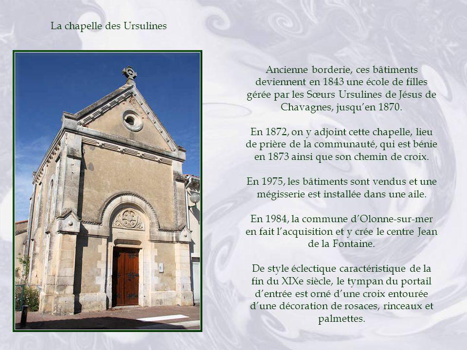 La chapelle des Ursulines