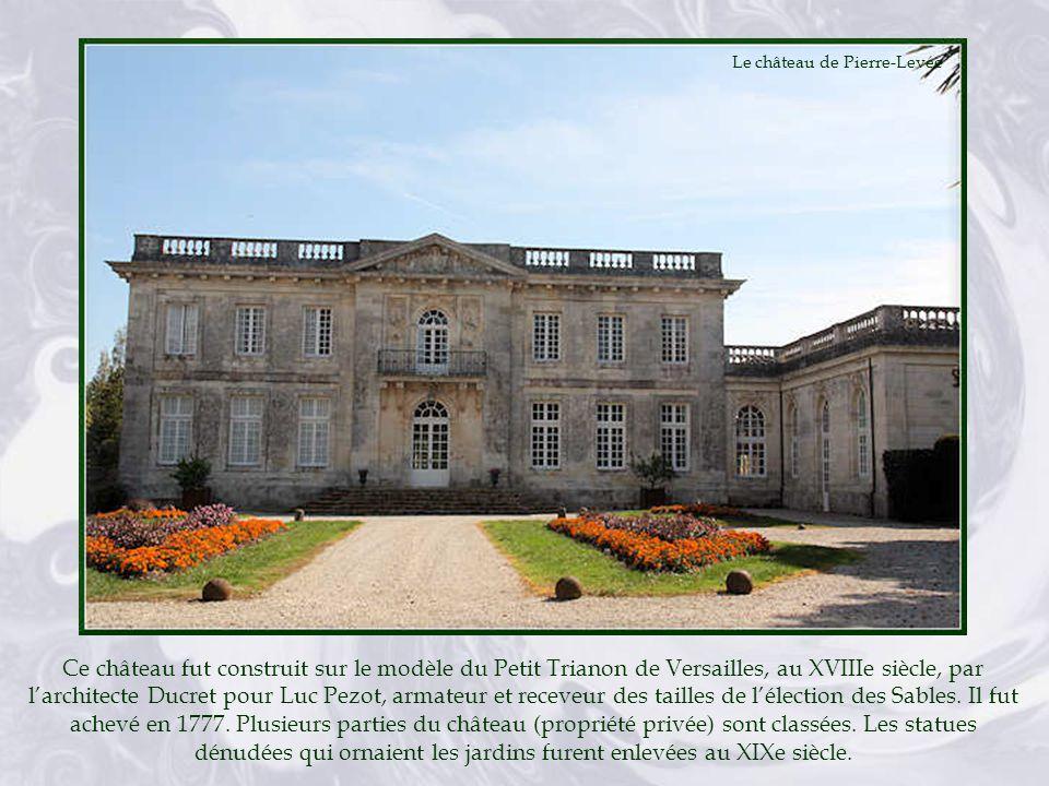 Le château de Pierre-Levée