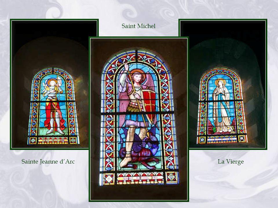 Saint Michel Sainte Jeanne d'Arc La Vierge