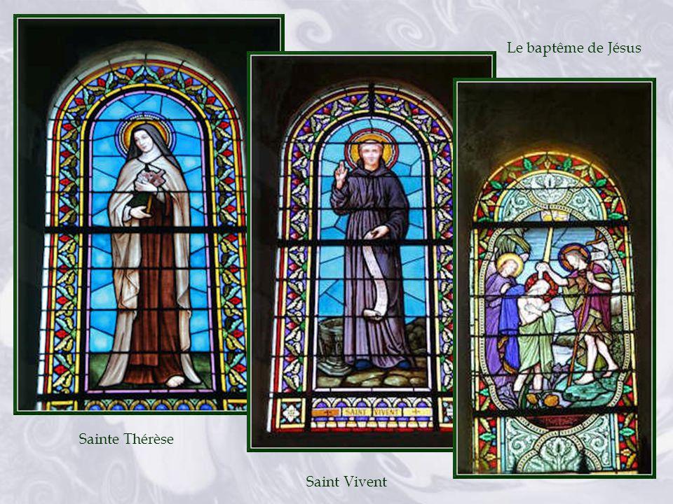 Le baptême de Jésus Sainte Thérèse Saint Vivent
