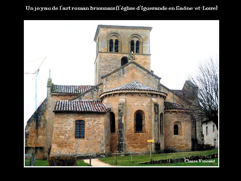 Un joyau de l'art roman brionnais (l'église d'Iguerande en Saône-et-Loire)