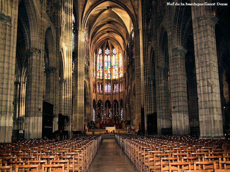 Nef de la basilique Saint-Denis